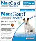 JUST ARRIVED TODAY - NexGard, Merial's brand new canine flea and tick preventive that comes in a BEEF FLAVORED CHEW. (Think Heartgard, but for fleas and ticks!!) Bring your dog in to try this exciting new product!