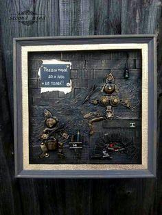 Панно на стену с банной тематикой