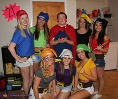 Jackie: Living in a house with seven girls and one guy we knew we had to be creative this Halloween. Snow White and the Seven Dwarfs was the perfect idea for...