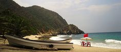 Playa Cepe, Aragua State, Venezuela - Arrive at the beach by boat, pitch a tent and relax...