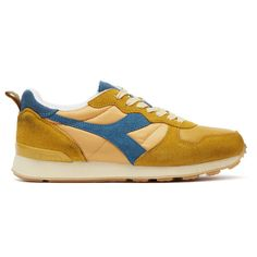 Diadora Camaro Mens Orange Mustard Trainers Mens Trainers, Mustard Shoes, London Free, Tower Of London, Sneakers Fashion, Orange Color, Running Shoes, Lace Up, Clothes