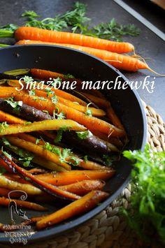 Kulinarne przygody Gatity: Smażona kolorowa marchewka