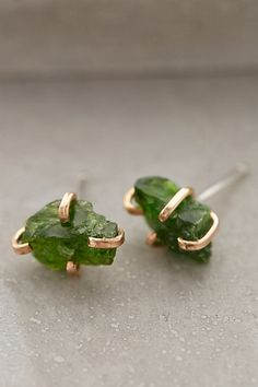 Heartland Mineral Studs - anthropologie.com #anthrofave