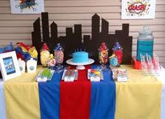 superhero party decor - Google Search