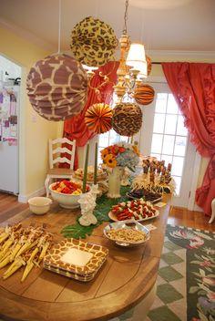 George's Safari 1st Birthday Party