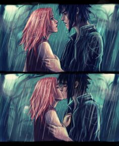 Kisses in the rain. (girlUnknown.deviantart.com) (B4: Downfall of Hope) ~Wendy Hamlet