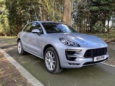 Porsche Macan-This one owner car was supplied new by us and is the later 2017 model year, benefiting from the upgraded electronics and mild face lift. Sun Roof, Porsche Models, Rear Seat, Electronics, Face, Design, Faces, Design Comics