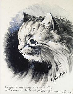 Louis Wain: It Looks at a Queen
