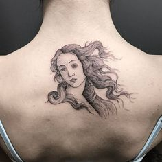 """Botticelli teaching: Birth of Venus"" #NeatTattoosIWouldHave"