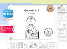 Atividades Geometria para 5 anos Ensino Domiciliar Homeschooling