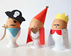 Dress up your eggs!  from Babiekins Magazine