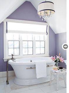 For more ways to decorate with purple, check out our article 10 pretty purple home accesories (photo from the April 2011 issue).