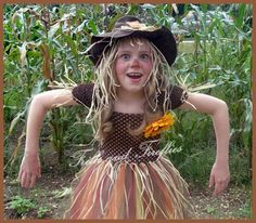 Scarecrow Tutu Costume Set