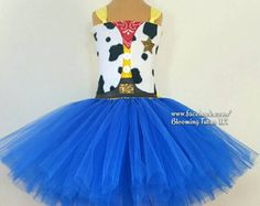 Disney Toy Story Woody Jessie Inspired Tutu by BloomingTutusUK