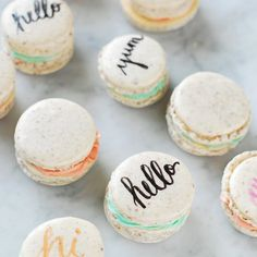 Fool Proof French Macarons