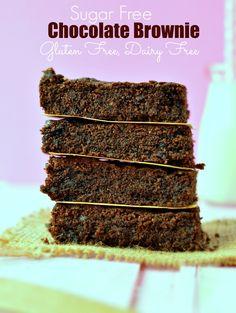 sugar free brownies gluten free
