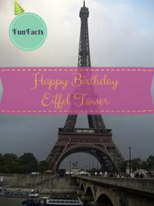 Happy 125th Birthday to the The Eiffel Tower  #paris #eiffeltower