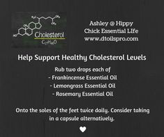 Wondering what oils to use to support the body with cholesterol? : Wondering what oils to use to support the body with cholesterol? Essential Oils For Colds, Essential Oils Guide, Frankincense Essential Oil, Lemongrass Essential Oil, Essential Oil Uses, Young Living Essential Oils, High Cholesterol Symptoms, Lower Cholesterol, Healing Oils