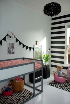 20 Ways to Customize the IKEA KURA Loft Bed & Make It Your Own is part of Kura bed - The KURA loft bed has earned its cred and its staying power Cama Ikea Kura, Ikea Kura Hack, Ikea Hacks, Ikea Loft Bed Hack, Kura Bed Hack, Big Girl Rooms, Kids Rooms, Boy Rooms, Guest Rooms