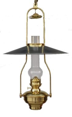 Oil and Electric Hanging Lamps: The 'NorthWest Reflector' Oil or Electric Lamp