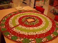 christmas tree skirt quilt patterns catalog of patterns - Christmas Tree Skirt Pattern