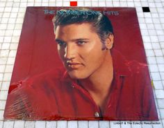 Still Sealed Elvis Presley The Number One Hits LP 1987 RCA 6382-1-R #CountryRock