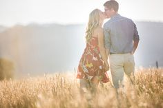 Open Field Engagement Photoshoot
