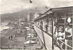 GENOVA - Pra - La Spiaggia - Anni '60