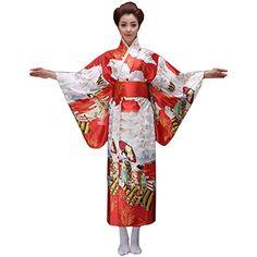 Partiss Damen Geisha Blumen Cosplay Kimono Morgenmantel Kostuem Lolita Kleid aus Satin Partiss http://www.amazon.de/dp/B00YBQ09F0/ref=cm_sw_r_pi_dp_CZcAvb1849JQT