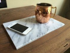 Carrera Marble Tray by TwoRiversCustom on Etsy https://www.etsy.com/listing/245100396/carrera-marble-tray