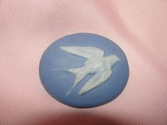Lonesome Dove Porcelain Cameo Pin - Free shipping