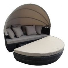 Iris Daybed  in Chocolate -