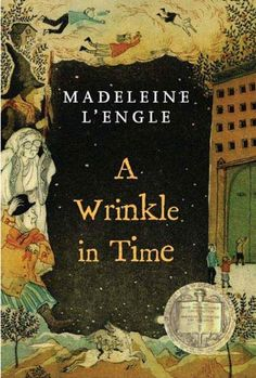 A Wrinkle in Time, by Madeleine L'Engle [A fascinating story.really, I love anything by Madeleine L'Engle. A Wrinkle In Time, I Love Books, Great Books, Best Books Of All Time, Best Books To Read, Up Book, This Book, Film Science Fiction, Reading Lists