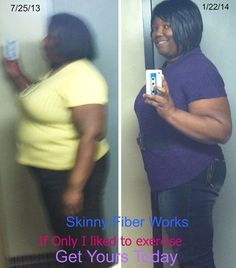 "DOES SKINNY FIBER WORK?   http://kyslims.SBCPower.com/?SOURCE=SBCP  I'm 43 yo only 5'4"" and in July 2013 carried over 290 on my frame. I started noticing Fb posts from a Sorority life sister posting testimonials and recipes. The fiber in the name caught my attention so I PM 'd her. She told me what it was doing for her and prices. I thanked her and kept it pinned in my notes because I wanted to get buy 3 get 3 free for the value. I also had others in mind who could use it. I knew fiber would..."