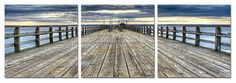 Along the Pier Print - Contemporary - Prints And Posters - Elementem
