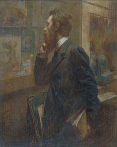 Impressioni Artistiche : ~ René Joseph Gilbert ~ Painter and French pastellist, Critique D'art, Beard Art, Joseph, Painting People, Pastel Art, French Artists, Gravure, Portraits, Figurative Art