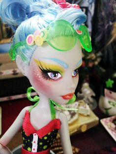 Custom Monster High - Ghoulia