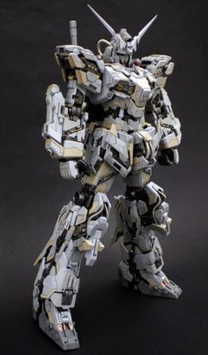 "Custom Build: MG Unicorn Gundam ""Super Detailed"" - Gundam Kits Collection… Gundam Toys, Gundam Art, Robo Transformers, Battle Robots, Armored Core, Cyberpunk, Gundam Wallpapers, Unicorn Gundam, Gundam Custom Build"