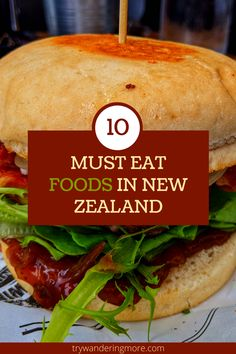 New Zealand Food And Drink, Fly To New Zealand, Travel Snacks, Foodie Travel, Places To Eat, Road Trips, Street Food, Kiwi, Lunches