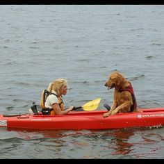 we have a double person kayak w/an open middle & my Damien loved to go w/us....I love that memory : )
