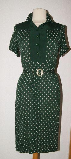original  1940er Jahre Damenkleid   Gr. 38