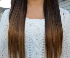 light brown ombre   - Hair Ideas