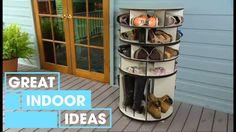 Make Your Own DIY Shoe Rack | Indoor | Great Home Ideas