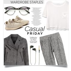 Casual friday by anchilly23 on Polyvore featuring polyvore, fashion, style, MANGO, rag & bone, H&M, Kreafunk and clothing