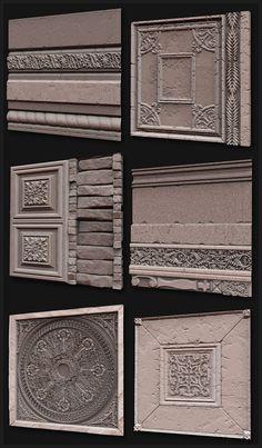 Zbrush and Mudbox Sculpts - Texture and Shader