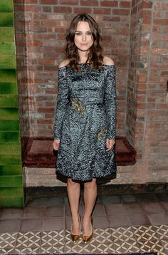 Keira Knightley at the Begin Again afterparty.