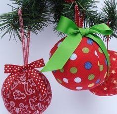 DIY Ornament Pattern, a pdf sewing pattern - free shipping IMMEDIATE DOWNLOAD