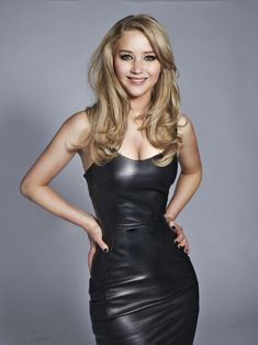 Jennifer Lawrence...okay the only thing that gets me annoyed about this picture is I know for a fact Jen is not that skinny. Muthafuckin' photoshop...