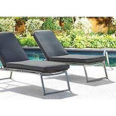 Umbra Loft Collection Woven Patio Lounger with Seat Pad | Canadian Tire