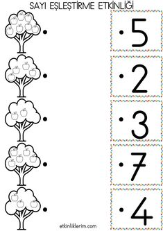 Preschool Education, Preschool Math, Kindergarten, English Worksheets For Kids, Math Worksheets, Baby Crafts, Adult Coloring Pages, Numbers, Homeschool
